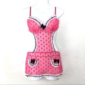 VICTORIAS SECRET Sexy Little Things Pink Lingerie